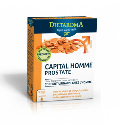 DIETAROMA Capital Homme Prostate 60 comprimes