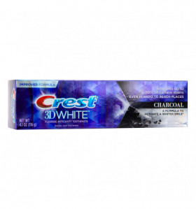 CREST 3D WHITE Charcoal Whitening Fluoride Anticavity Toothpaste 116g