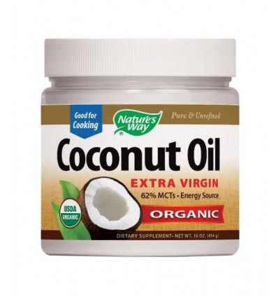 Nature's Way Organic Coconut Oil 454gr