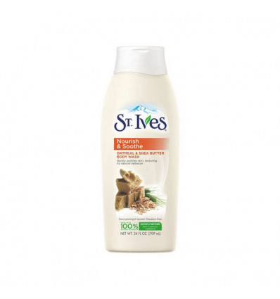 St.Ives Soothing Oatmeal and Shea Butter Body Wash 709ML