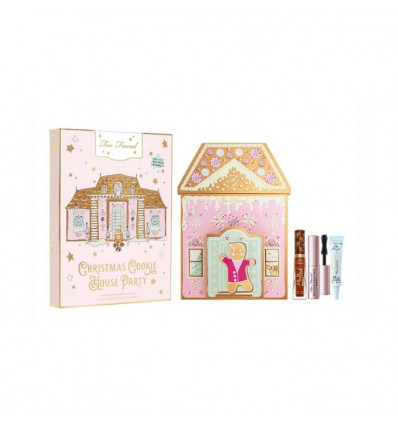 TOO FACED CHRISTMAS COOKIE HOUSE PARTY KIT