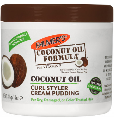 PALMER'S COCONUT OIL FORMULA PRODUCTS Curl Styler Cream Pudding 396g